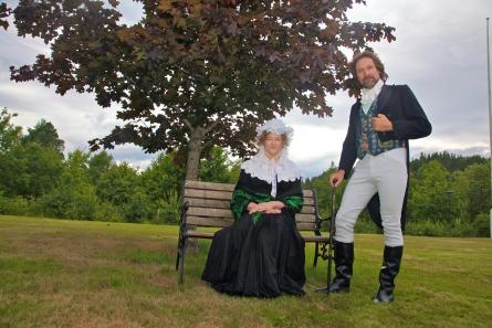 Verkseier Cappelen og frue