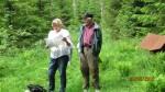 Åse Marie og Arne L. orienterer ved Ødegården