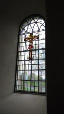 Tjølling kirkes glassmosaikk