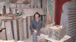 Fra steinindustrimuseet; Steinhoggeren