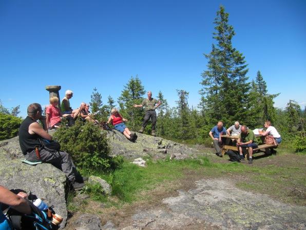 09.06.14. Orientering på Skibergfjell