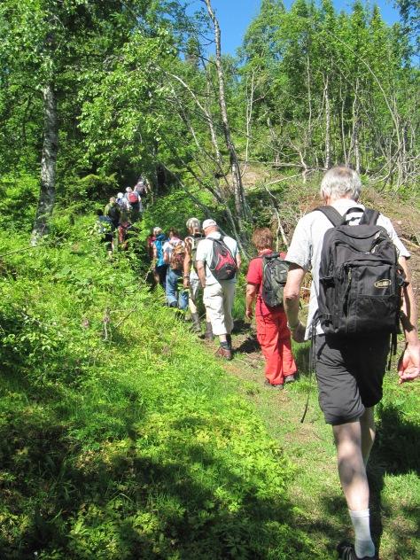 09.06.14. På tur mot Skibergfjell